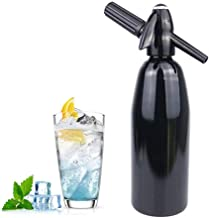 HXZB Soda Siphon Maker Faire Eau Gazeuse, Bouteille Seltzer Portable, Boire du Jus Accueil Beer Bar Siphon Machine, 1 Litr...
