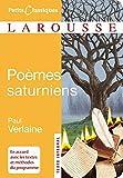 Poèmes saturniens - Larousse - 19/03/2008