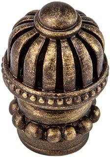 Carpe Diem Hardware 969-3 1-1/16-Inch Cricket Cage Anti Knob, Antique Brass