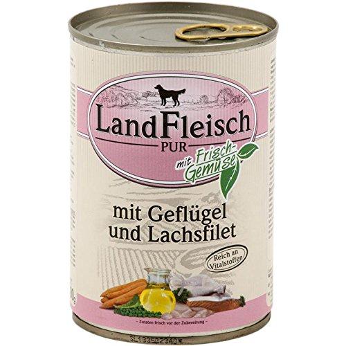 Landfleisch Pur Geflügel Lachsfilet | 12x 400g