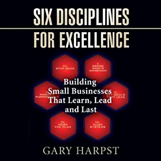 Six Disciplines for Excellence cover art