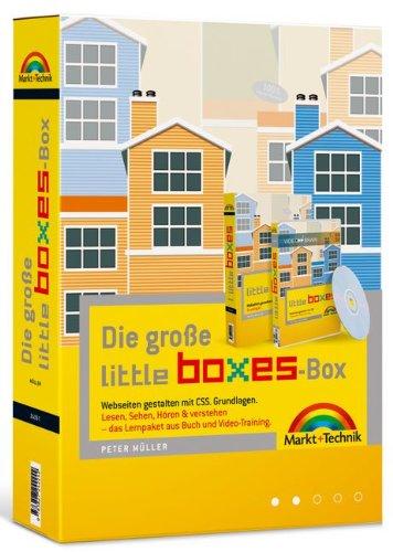 Die große Little Boxes-Box: Webseiten gestalten mit CSS. Grundlagen. Das Lernpaket aus Buch und Video-Training