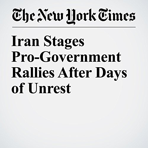 Iran Stages Pro-Government Rallies After Days of Unrest copertina