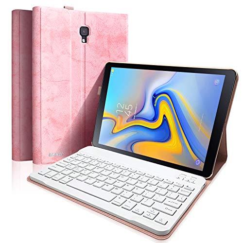 BAIBAO Teclado Tablet A 10.5 T590 para Samsung Galaxy Pro 10.5 Pulgadas SM-T590 / T595, Funda Teclado Español Inalámbrico Bluetooth Desmontable Magnéticamente con Cubierta Delgada