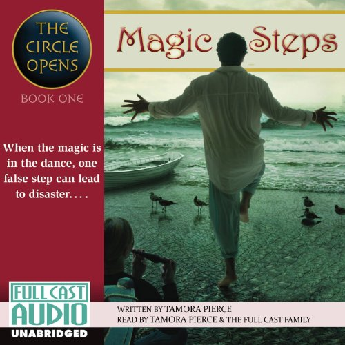 Magic Steps audiobook cover art