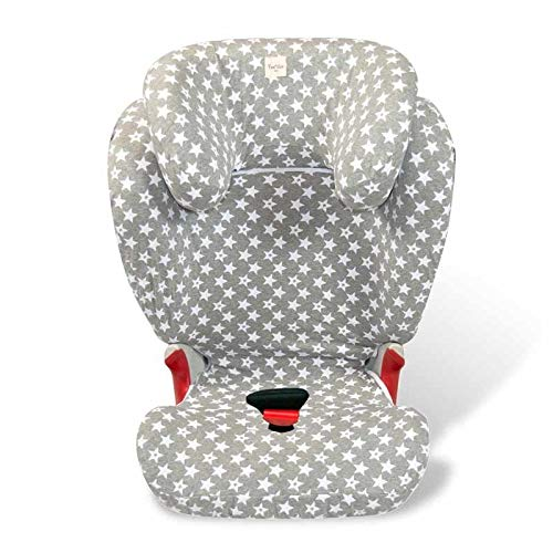 Fundas BCN ® - F98/93002 - Funda para silla de coche Römer Kidfix II Xp Sict ® - Fun Vintage Star