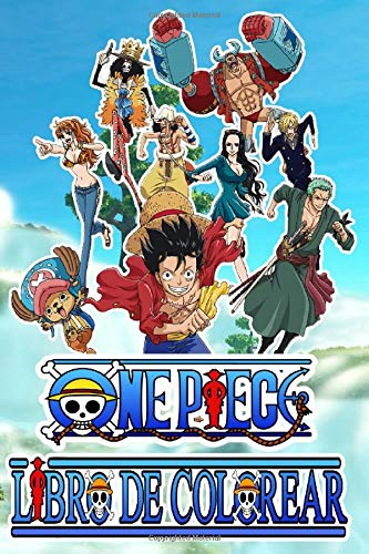 ONE PIECE COLORING BOOK: How to draw one piece