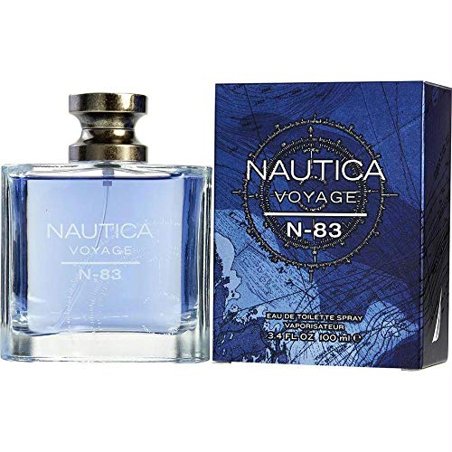 Nautica Voyage N-83 by Nautica Eau De Toilette Spray 3.4 oz / 100 ml (Men)