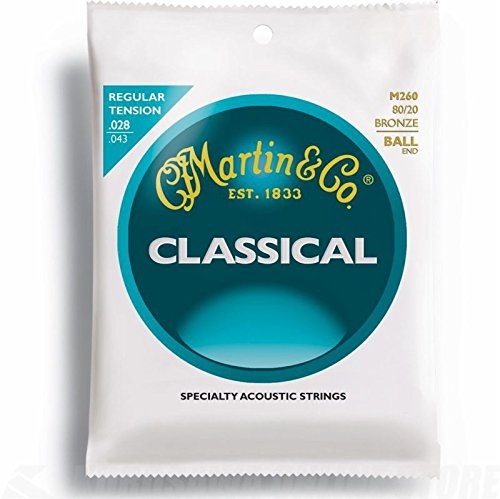 C.F. Martin & Co. M260 80/20 Bronze Acoustic Guitar Strings, Medium