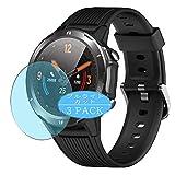 VacFun 3 Piezas Filtro Luz Azul Protector de Pantalla, compatible con LETSCOM/Lintelek 1.3' ID216 Smartwatch smart watch, Screen Protector Película Protectora(Not Cristal Templado) NEW Version