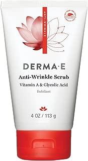 DERMA E Anti Wrinkle Scrub with Glycolic Acid, 4oz