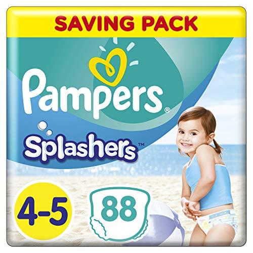 Pampers Splashers Einweg-Schwimmhose - Größe 4/5 (9-15kg) - Fall von 8 Packungen von 11
