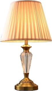 HLQW Moderne Kristall Tischlampe Schlafzimmer Nachttischlampe Wohnzimmer Moderne warme romantische Hochzeit Lampe B07JJJZJ5S  Sonderkauf