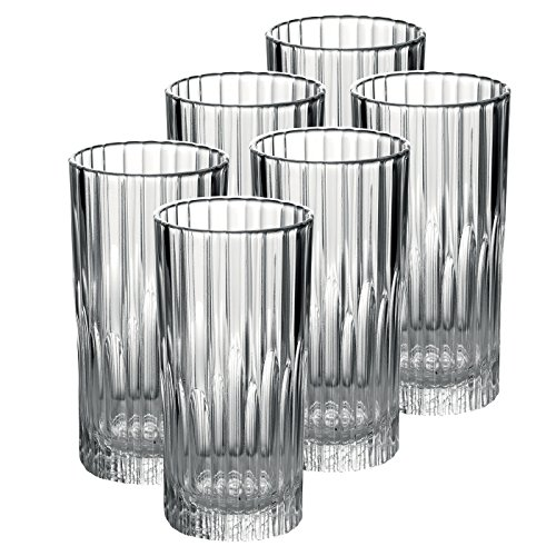 LOT DE 6GOBELET 30,5CL MANHATTAN TRANSPARENT DURALEX