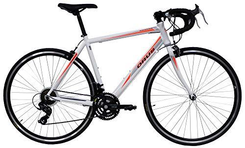giordanoshop Bicicletta Ibrida da Uomo 28' 21V H55 Denver Corsa Bianca