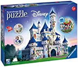 Ravensburger-00.012.587 Puzzles 3D Building Serie Maxi, Disney Fantasy Castle (12587)