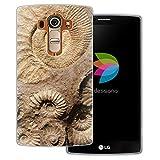 dessana Fossil Coque de protection transparente pour LG G4 Ammonite