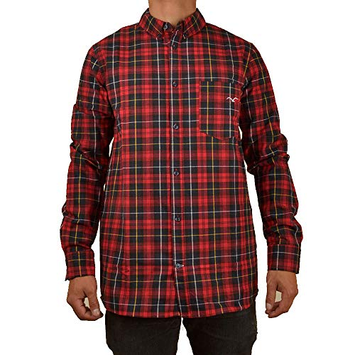 Cleptomanicx Plaid 3 Größe S, Farbe Classic RED