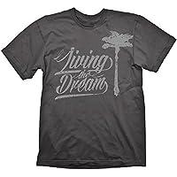 Dead Island 2 T-Shirt Living The Dream Grey, S [Importación Alemana]