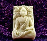 Buddha Silicone Mold SOAP Resin Wax Plaster Clay Lotus