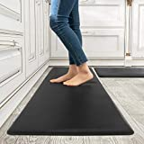 Kitchen Rugs and Mats Kitchen Mat Set of 2 Anti Fatigue Standing Mat for Kitchen, Office, Laundry...