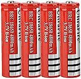 Best 18650 Battery Button Tops - VCFR Pila 18650 Recargable 3.7V 4800mah Litio Button Review