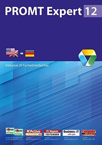 PROMT Expert 12 Englisch-Deutsch: Inklusive 20 Fachwörterbücher (PROMT Übersetzungssoftware)