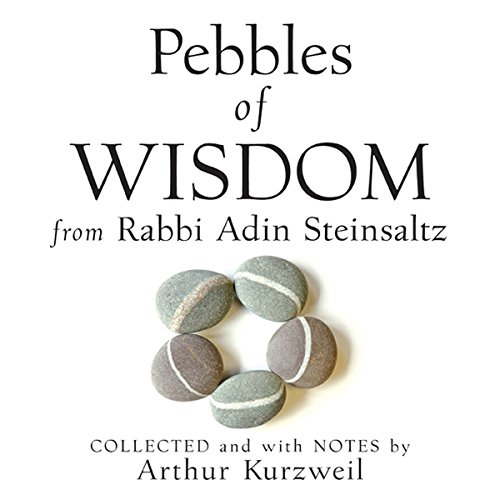 Couverture de Pebbles of Wisdom from Rabbi Adin Steinsaltz