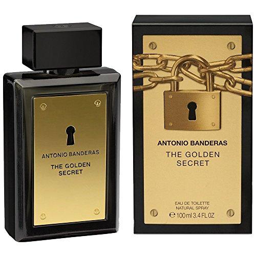 Perfume The Golden Secret - Antonio Banderas - Eau de Toilette Antonio Banderas Masculino Eau de Toilette