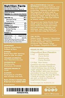 Healthworks Cacao Butter Organic للبيع