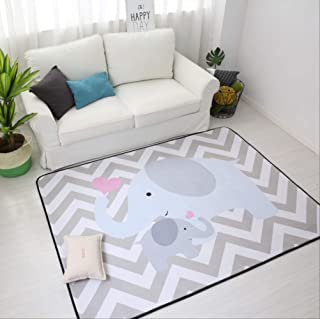 Area Rugs Carpets Thick Cartoon Carpets for Living Room Soft Rugs for Bedroom Children Play Crawl Floor Mat Anti-Slip Carp...