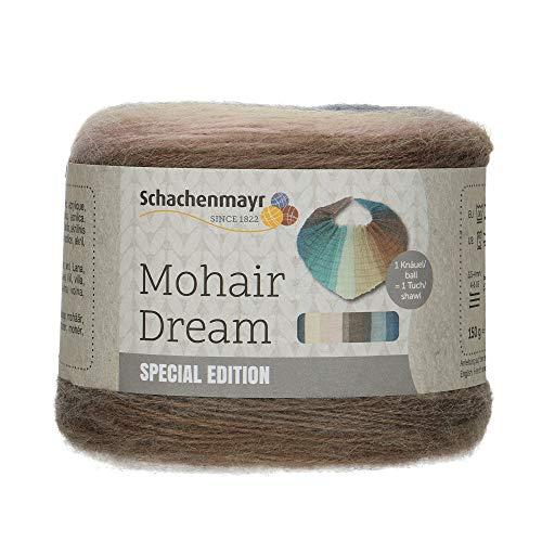 Schachenmayr 9807884-00084 Handstrickgarn, 84% Polyacryl, Wolle, 8% Mohair, storm, onesize