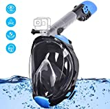 Gocheer Snorkel Mask Full Face Snorkeling and Diving Mask with Detachable Camera Mount