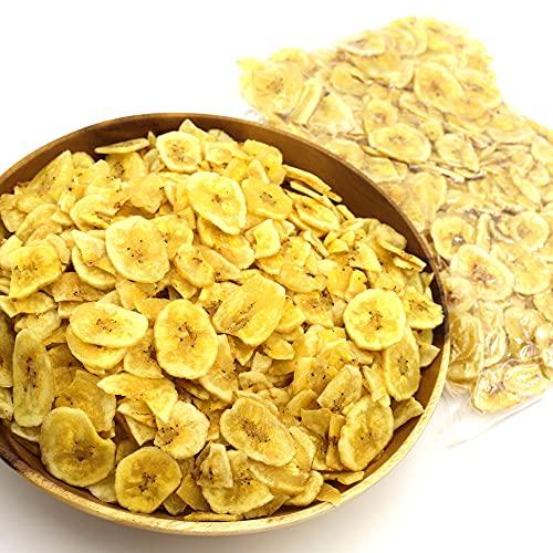 バナナチップス 薄切り 400g チャック袋入 真空パック ドライフルーツ バナナ チップス 割れあり ココナッツオイル フィリピン産 バナナチップス