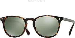 New Oliver Peoples OV 5298 SU Finley ESQ 1454O9 Semi Matte Sable Tortoise Sunglasses