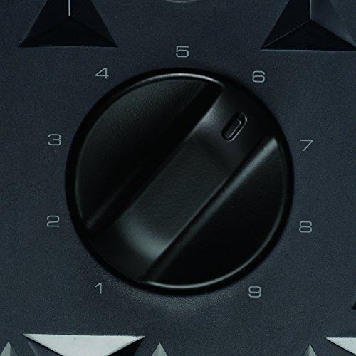 Morphy Richards 248101 Prism Four 4 Slice Toaster Toast Stylish Black Textured