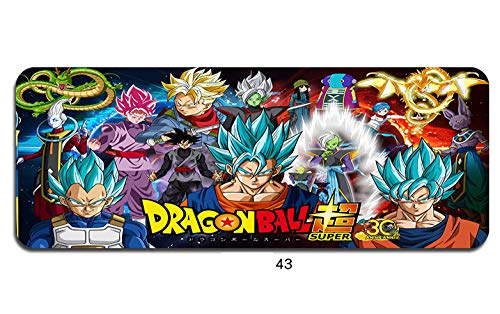 Muispads Dragon Ba ll en Goku Anime Muismat 900X400Mm Gaming Mousepad Anime Best Office Desk Mat XL Games Pc Gamer Mats, 300 * 800, B
