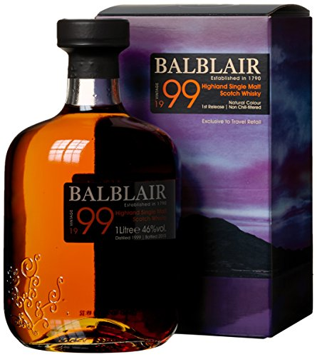 Balblair Vintage 1999 mit Geschenkverpackung Whisky (1 x 1 l)