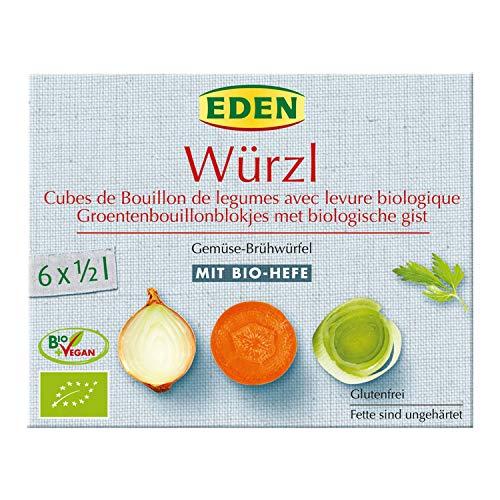 Eden Bio Würzl Gemüse-Brühwürfel mit Bio-Hefe (1 x 66 gr)