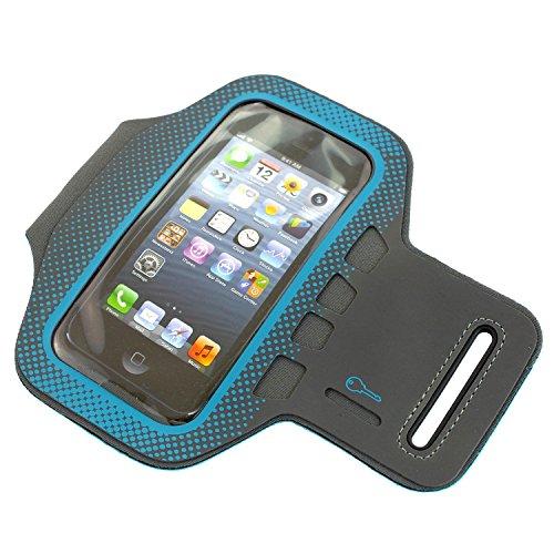 SUNEN–Brazalete deportivo per realizzare Footing per Apple Iphone 5/5C/5S per le chiavi e pratica chiusura in velcro