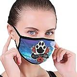 CZLXD All You Need Is - Máscara Antipolvo para Perro y Mujer
