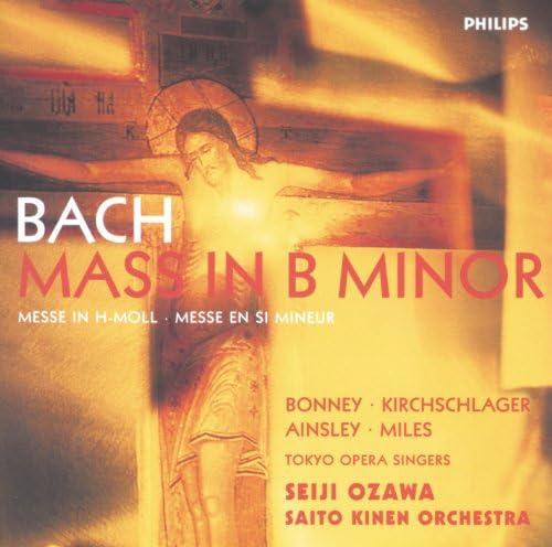 Barbara Bonney, Angelika Kirchschlager, John Mark Ainsley, Alastair Miles, Tokyo Opera Singers, Saito Kinen Orchestra & Seiji Ozawa