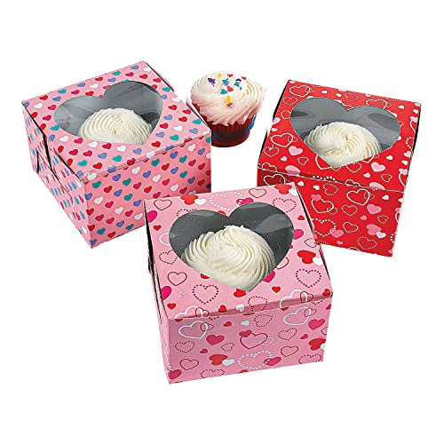 Valentine's Day Cupcake Boxes -