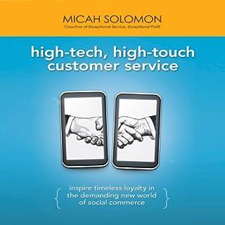 High-Tech, High-Touch Customer Service cover art