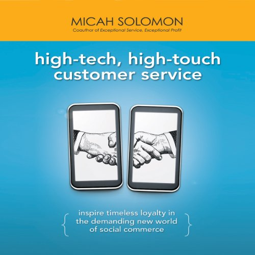 High-Tech, High-Touch Customer Service audiobook cover art