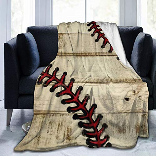 QINCO Decke Werfen Leichte Weiche Warme,Bowlingball Sport,Mikrofaser Alle Jahreszeiten Wohnzimmer/Schlafzimmer/Sofa Couch Bett Flanell Quilt,50