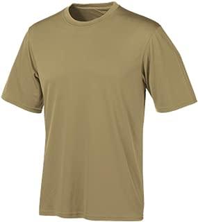 Men's Short Sleeve Double Dry T-Shirt, Desert Sand, Large