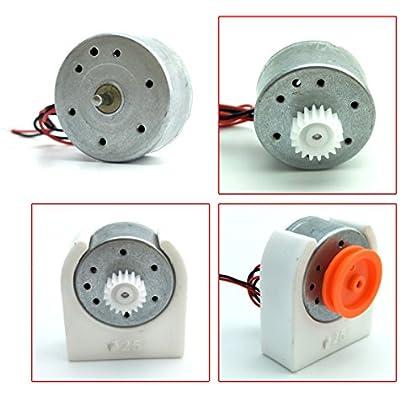 Mini Generator Motors 3V-12V DC Motor Electric Motor for Hand Cranked Generator