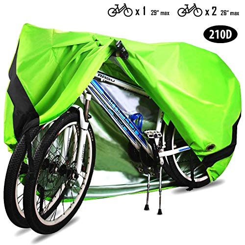 Bike Cover Bicycle Waterproof Outdoor Motorcycle Covers XL XXL for 2//3 Bikes ...