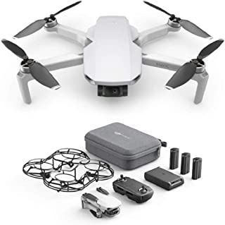 DJI Mavic Mini Combo Drone Leggero e Portatile, Batteria 30 Minuti, Distanza 2 Km, Gimbal 3 Assi, 12 MP, Video HD 2.7K, EU...